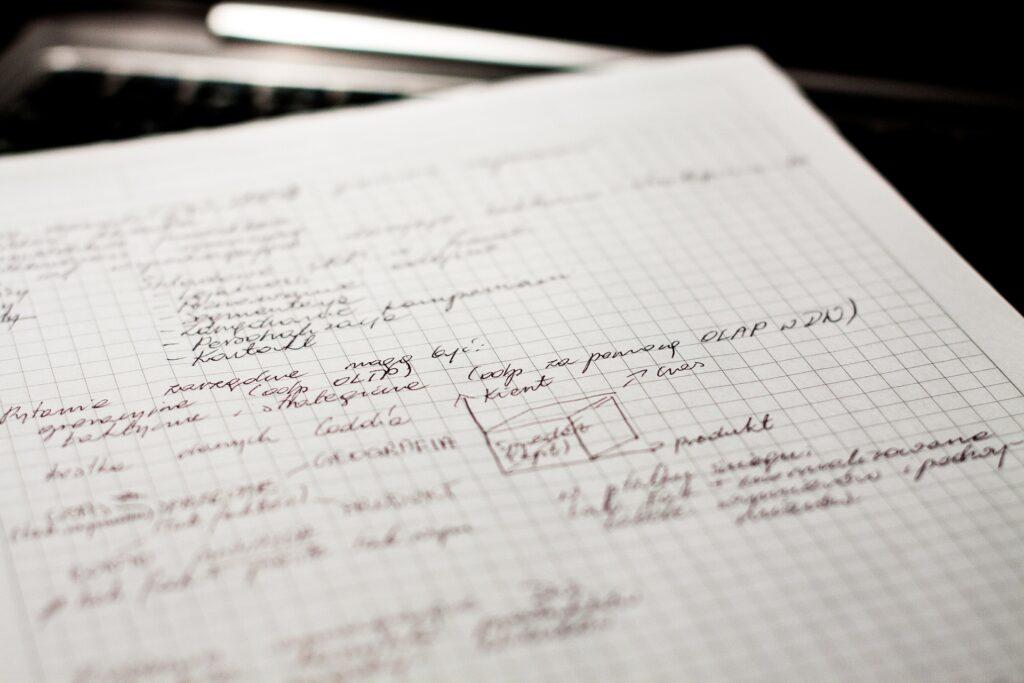 6-cycle semi-log paper.